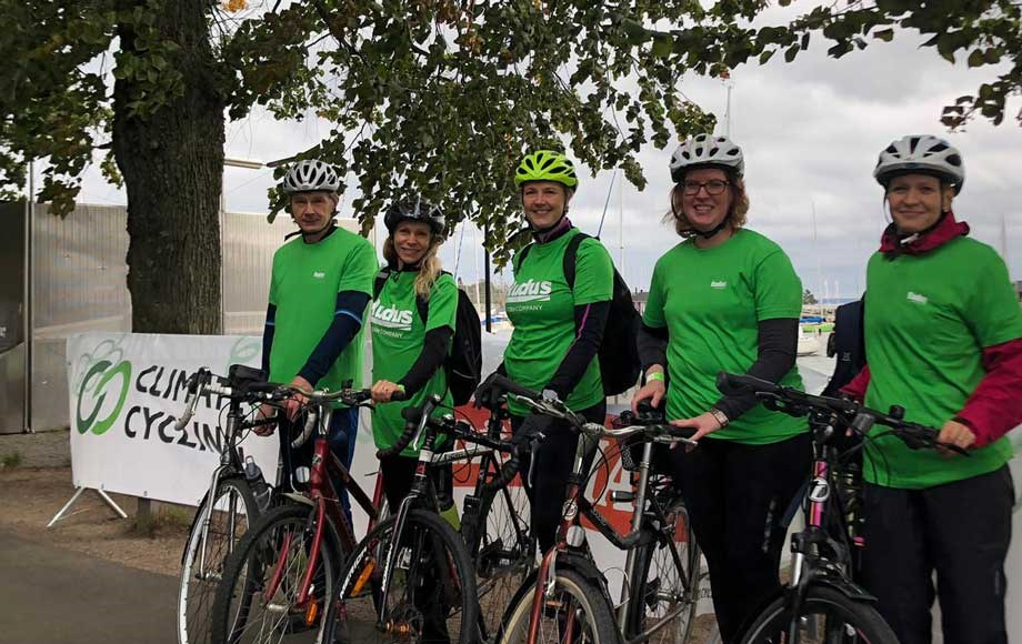 Climate cycling 5 team